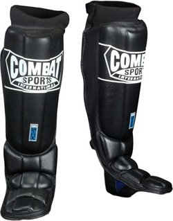 Combat Sports International Adults' Gel Shock™ Pro-Style Grappling Shin Guards