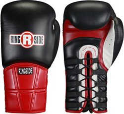 Safety Lace-Up Sparring Gloves