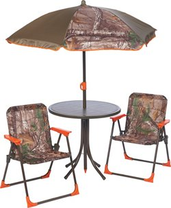 Realtree Xtra Camo 4-Piece Patio Set