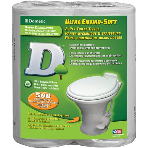 Dometic Ultra Enviro-Soft 2-Ply Toilet Tissue 4-Pack