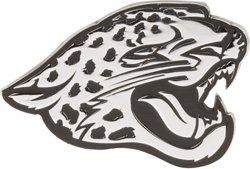 Stockdale Jacksonville Jaguars Chrome Metal Freeform Auto Emblem