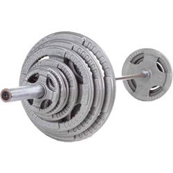 400 lb. Steel Grip Olympic Plate Set