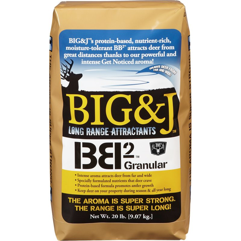 Big & J BB2 20 lb. Granular Deer Attractant - Game Feed And Supplements at Academy Sports thumbnail