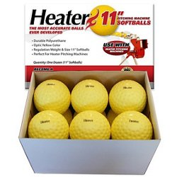 "11"" Pitching Machine Softballs 12-Pack"