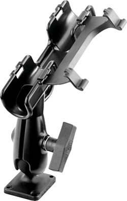RAM RAM-ROD™ 2007 Fly Rod Jr. Fishing Rod Holder with Flat Surface Rectangle Base