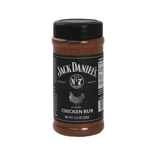 Jack Daniel's Chicken Rub 11.5 oz. Bottle