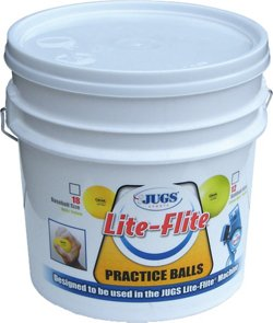 Lite-Flite Softballs 12-Count Bucket