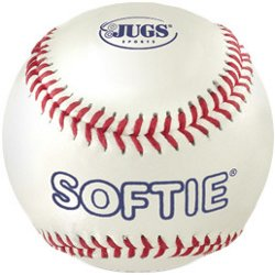 Softie Genuine Leather Baseballs 12-Pack