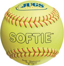 "Softie 12"" Genuine Leather Softballs 12-Pack"