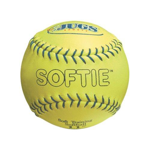 JUGS Softie 11' Genuine Leather Softballs 12-Pack