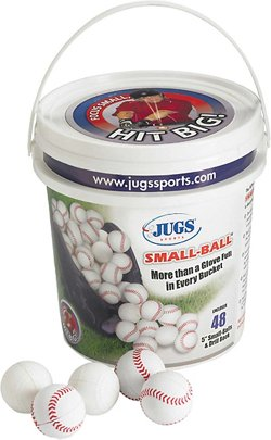 "Small-Ball® 5"" Baseballs 48-Count Bucket"