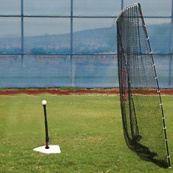 Big Play 7' x 9' Sports Net and SPRING AWAY Batting Tee