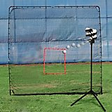 Heater Sports Scorpion Portable Pitching Machine and KingKong 7' x 9' Net
