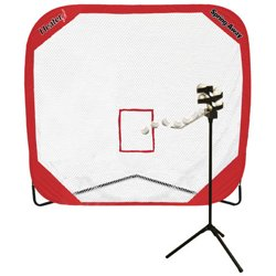 Big League Portable Drop Toss Pitching Machine and Spring Away Pro