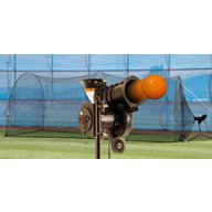 Heater Sports PowerAlley Lite-Ball Pitching Machine and 10' x 12' x 20' Batting Cage