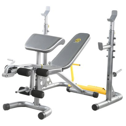 Golds gym xrs 20 multistation weight bench academy