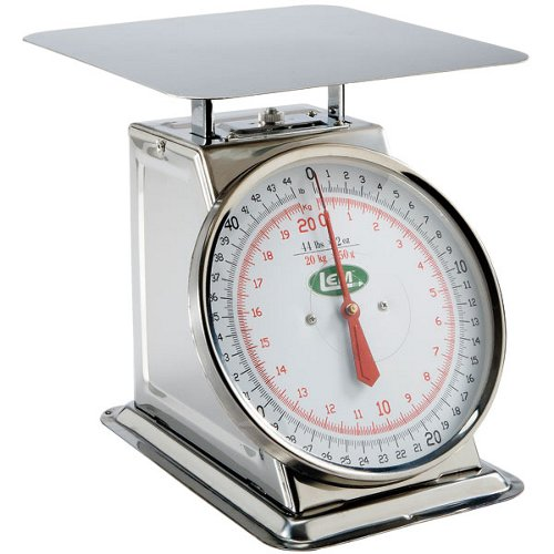 LEM 44 lb. Stainless Steel Scale