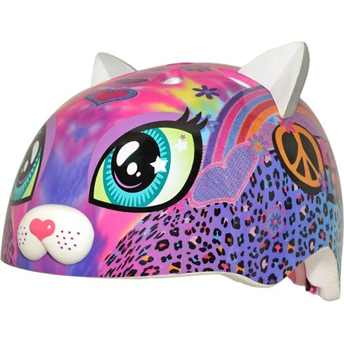 Raskullz Kids' Peace Love Kitty Helmet