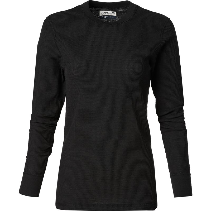 Magellan Outdoors Women's Thermal Waffle Baselayer Top Black, X-Large – Men's Thermals at Academy Sports