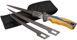 NEBO Quarrow® Interchangeable 3-Blade Knife Set