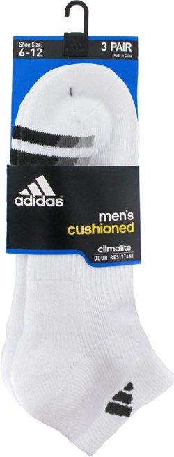 adidas Men's climalite Low-Cut Socks 3 Pack