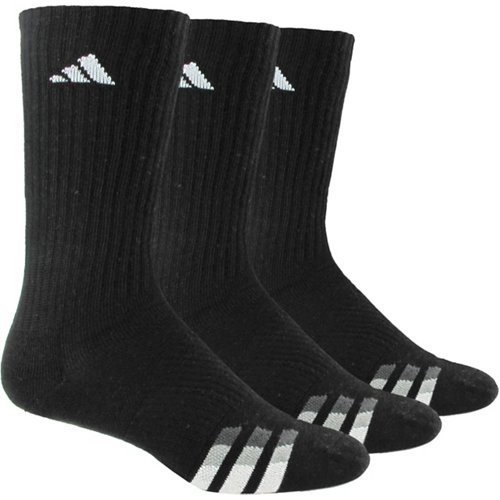 adidas Men's climalite Crew Socks 3 Pack
