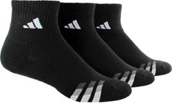 adidas Men's climalite Quarter Socks 3 Pack