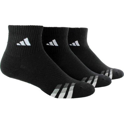adidas Men's climalite Quarter Socks 3 Pack