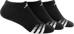 adidas Men's climalite No-Show Socks 3 Pack