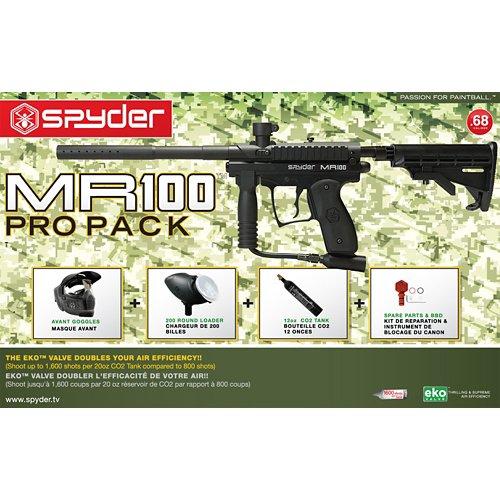 Spyder MR100 Pro RTP Paintball Marker Kit