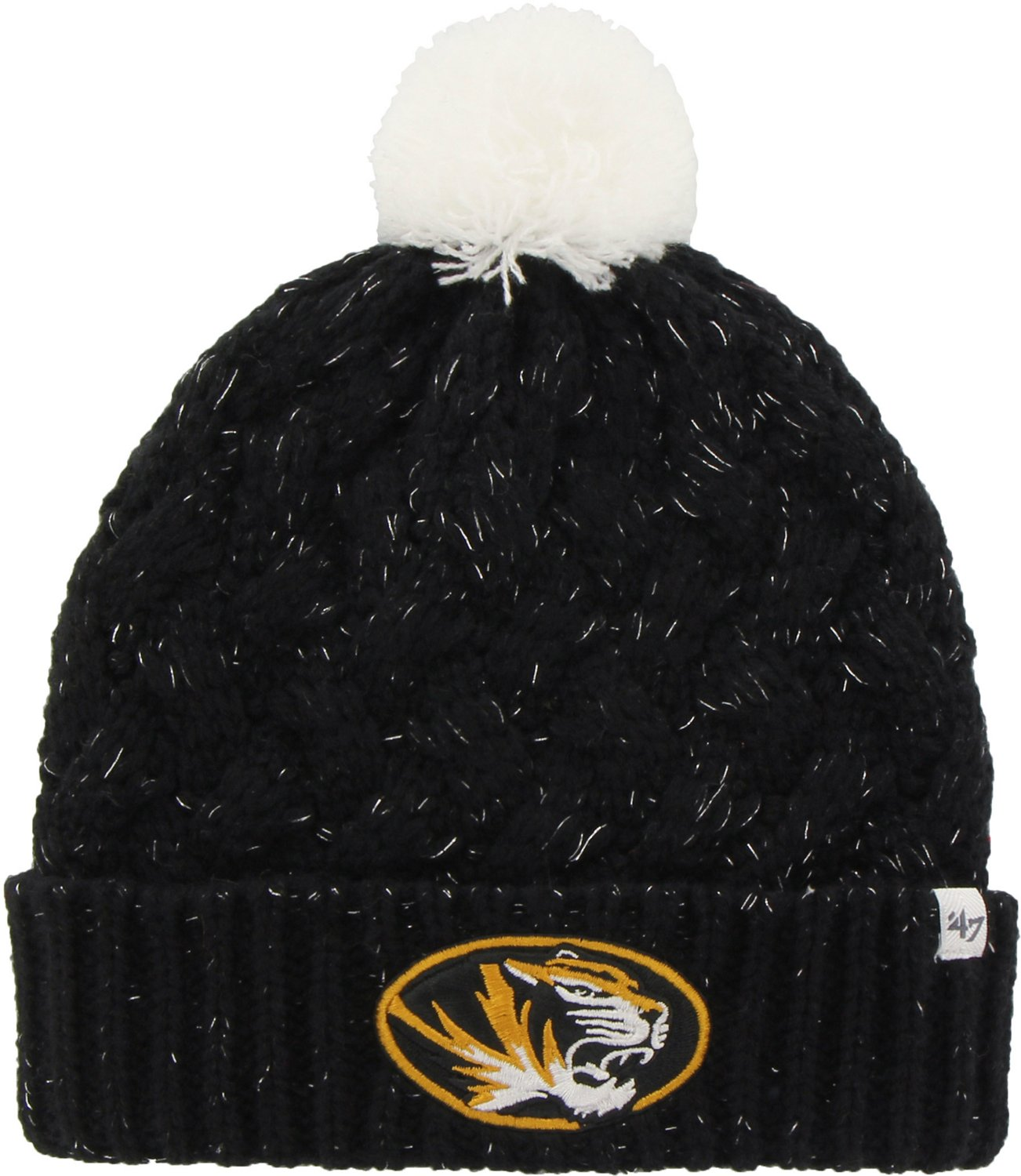 503f303c7f02a ... usa 47 womens university of missouri gameday fiona cuff knit cap  academy eb00b aea93