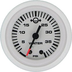 SeaStar Solutions O/B Water Pressure Gauge