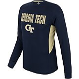 Colosseum Athletics Men's Georgia Tech Trainer Long Sleeve T-shirt