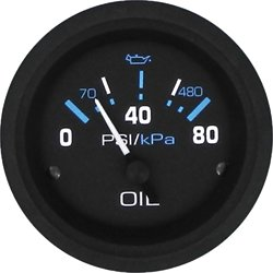 SeaStar Solutions Eclipse Oil Pressure Gauge