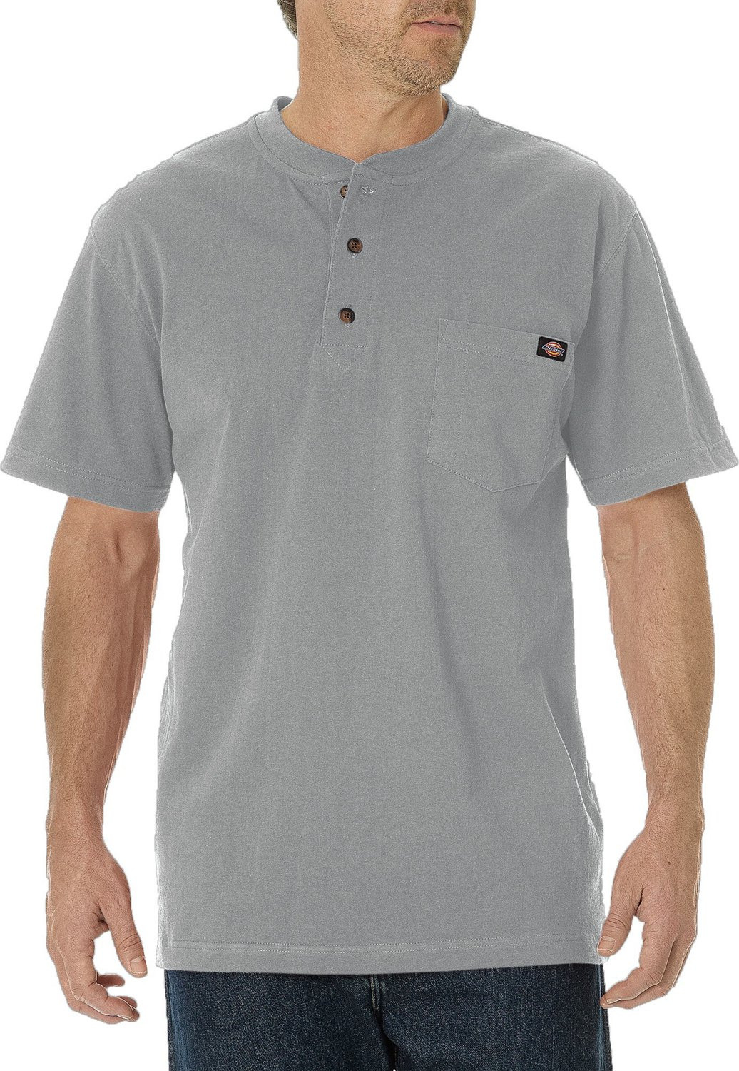 627d190784a6 Display product reviews for Dickies Men s Short Sleeve Heavyweight Henley