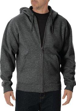 Dickies Men's Midweight Fleece Full Zip Hoodie