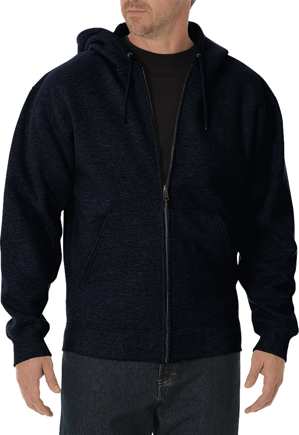 newest d6f90 68113 Display product reviews for Dickies Men s Midweight Fleece Full Zip Hoodie