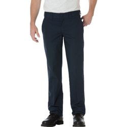 Men's Slim Straight Fit Poplin Work Pant