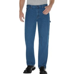 Men's Relaxed Fit Stonewashed Carpenter Jean