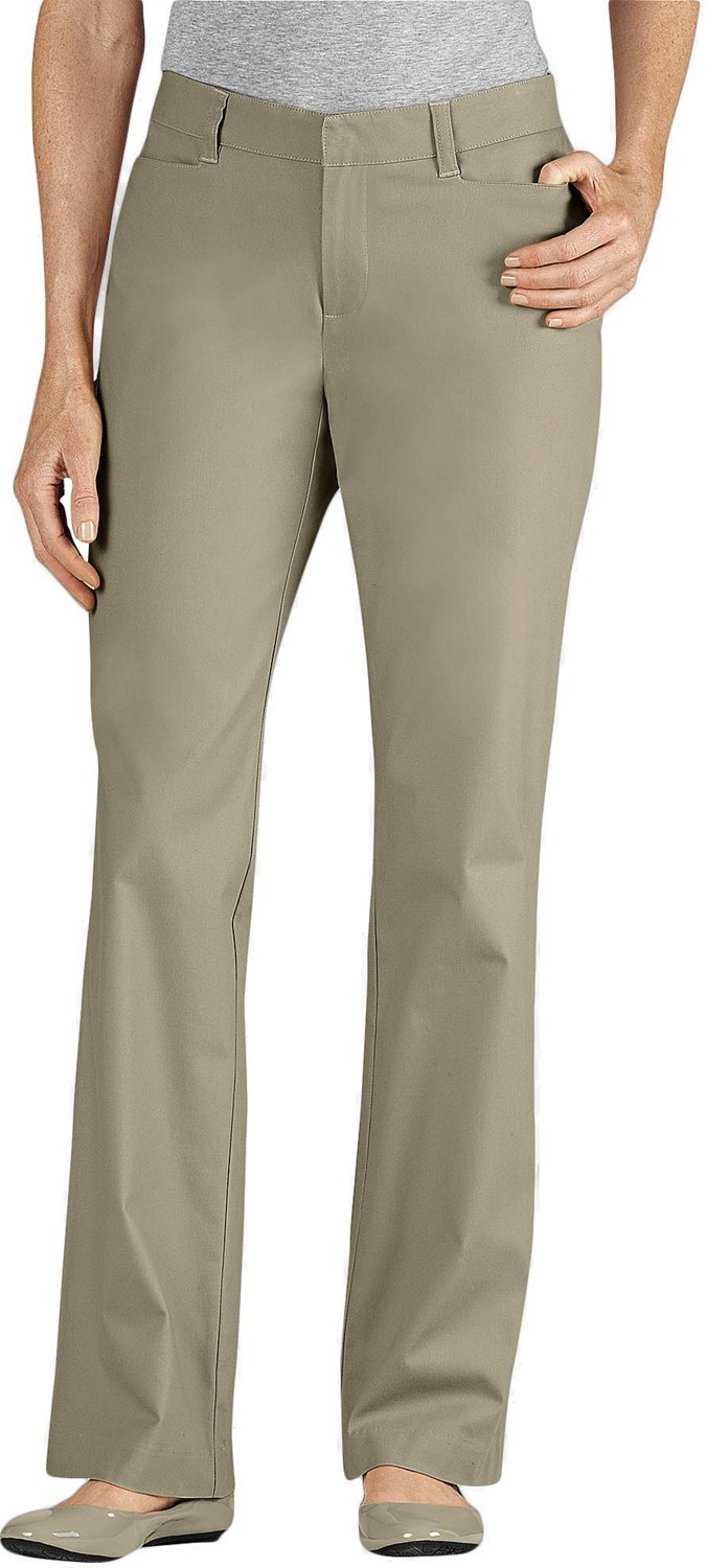 57593ecb7e24a4 Display product reviews for Dickies Women's Curvy Fit Straight Leg Stretch  Twill Pant