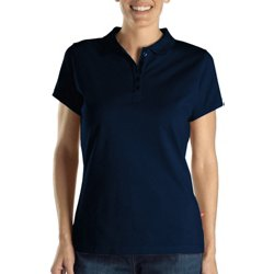Women's Solid Pique Polo Shirt