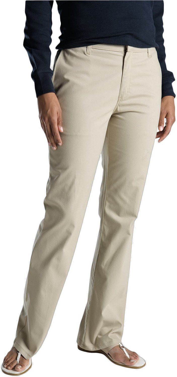 a470a84519b Dickies Women's Flat Front Stretch Twill Pant | Academy