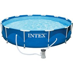 12ft x 30in Round Metal Frame Pool Set