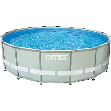 INTEX 16ft x 48in Round Ultra Frame Pool Set with 1,500 Gal Filter Pump