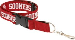 NCAA Adults' University of Oklahoma 2-Tone Lanyard