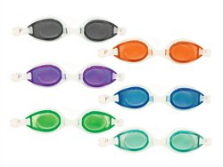SwimWays Kids' Fish Face Dolphin Swim Goggles