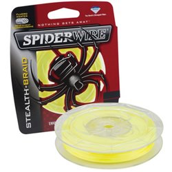 Spiderwire Stealth- Braid - 125 yards Braided Fishing Line