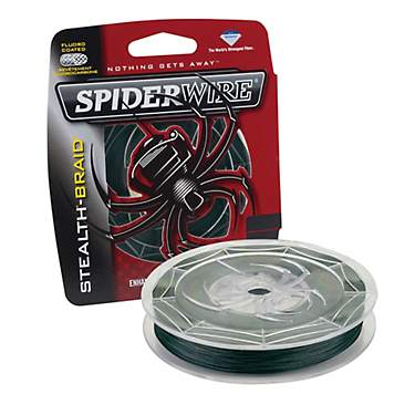 Spiderwire Stealth-Braid - 125 yards Braided Fishing Line