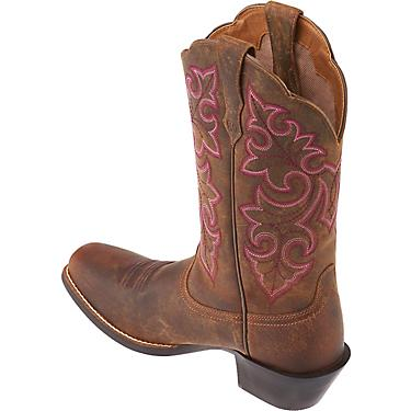 40c124db00d Ariat Women's Round Up Square-Toe Cowboy Boots