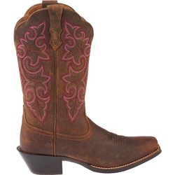 Women's Round Up Square-Toe Cowboy Boots